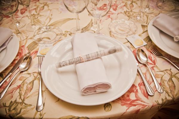 Francisco Rivera | Imagen de un servicio de mesa en Monasterio del Espino