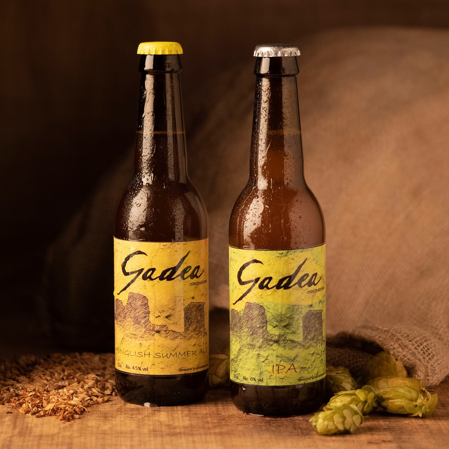 Cerveza Artesana Gadea English Summer Ale